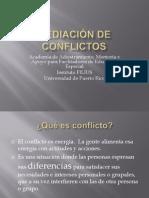 Mediacin de Conflictos-Educacin Especial