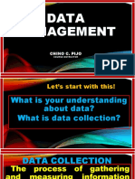 Data Management (Statistics)