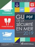 Guide de la sécurité en mer - édition 2019