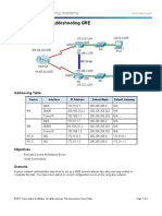 3.4.2.5 Packet Tracer - Troubleshooting GRE - ILM.doc
