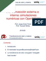 T5.2 Convección externa e interna - simulaciones con OF