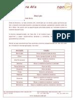 Ficha técnica Alumina