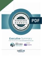 2017年大麻市场状况摘要(P24) ArcView Marijuana Markets Executive Summary