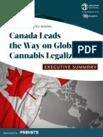 BDS加拿大大麻行业执行报告摘要(17P)BDS 2019 CanadaReport ExecSummary 4P BDS