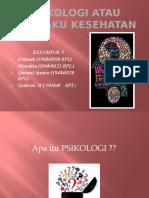 Psikologi atau Perilaku Kesehatan PPT KEL 6.pptx