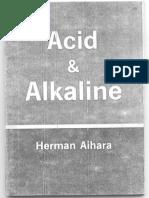 Acid&Alkaline. Herman Aihara