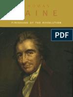 Harvey J Kaye - Thomas Paine Firebrand of the Revolution