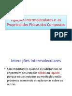 Ligações Intermoleculares e  as Propriedades Físicas dos Compostos.pdf