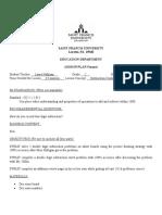 subtraction centers lesson plan  3-10-2020