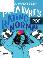 Peta Lyre's Rating Normal by Anna Whateley Chapter Sampler