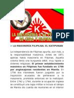 HACE 100 AÑOS PERDIDA DE CUBA Y FILIPINAS CONSPIRACION MASÓNICA (2 de 2)