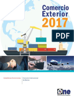 Anuario Comercio Exterior 2017