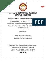 ENSAYO  ING. ECONOMICA 3 UNIDAD
