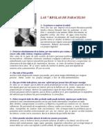 7 reglas de paracelso