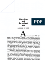 Liberalism and the National Idea