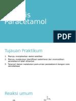 Sintesis Paracetamol ppt