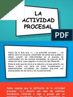 acto procesal