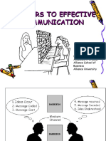 Communication barriers