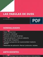 LAS FABULAS DE DUSS.pptx