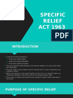 Module X - Specfic Relief Act - Final.pptx