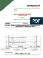 SI3-10-02 Especificaciones para la Construcción de Zanjas para Cables Eléctricos.pdf