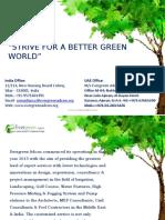 Evergreen Adcon- Profile