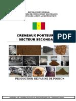 fabrication de farine de poisson