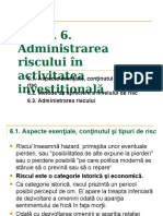 TEMA 6  Administrarea riscului.ppt