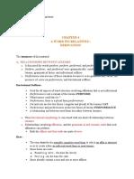 summary morphology chapter 4