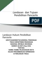 REF # Session 1 Landasan  dan Tujuan.pptx