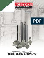 P.L.D-02 PVC Conduit, Bends, J.B's (Sudhakar)