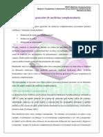 Conceptos generales de Medicina Complementaria