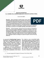 teoría de modificabilidad cognitiva reuven feuerstein