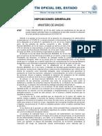 Desconfinamiento Deportes España BOE 1MAYO 2020