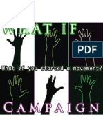 WHAT IF Campaign - Logo