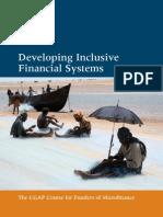 CGAP Funder Training Brochure