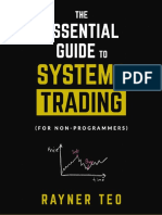 The Essential Guide to Systems Trading (for non-programmers)