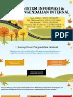 PPT Kelompok 4 - Sistem Informasi dan Pengendalian Internal.pptx