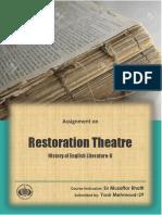 Theatre of Restoraton Assignment.pdf