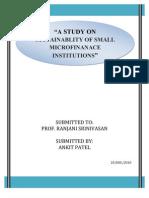 A Project Report Ankit Patel