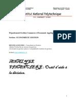 Cours analyses fin et économique IC PV