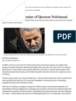The Sinister Genius of Qassem Soleimani - WSJ.pdf