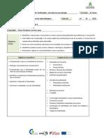 Objetivos e conteúdos da UFCD