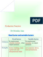 7. Production Function(1)