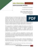 El Principio de Economía Procesa - Por Ramón de la Torre Medina