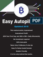 $100 Bitcoin daily Antopilot 2020