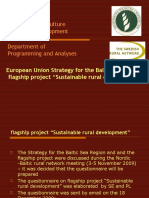 Flagship Sustainable Rural Development