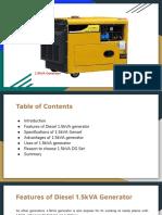 1.5kVA Generator PDF
