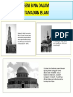 GMBR SENI TAMADUN ISLAM