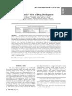 An ''Omics'' View of Drug Development